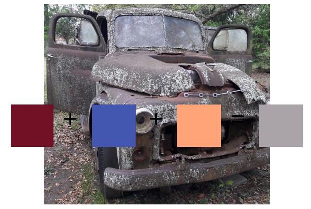 rusty truck color formula; janebalshaw.com